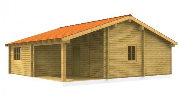 Maison bois en kit maison bois alpha - Maisons en bois en kit ...
