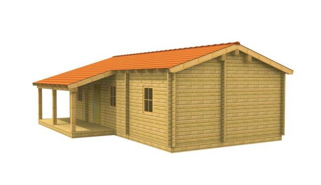 Maison bois en kit gamma maison en bois for Kit maison en bois