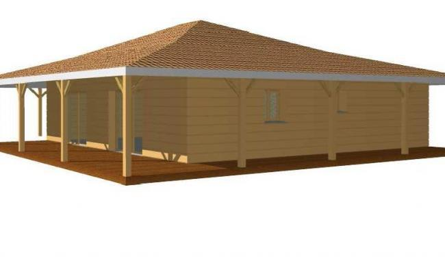 Maison en bois en kit tarif for Chalet bois tarif