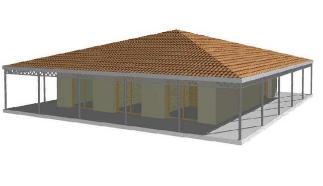 maison bois en kit maison en bois arcachonnaise. Black Bedroom Furniture Sets. Home Design Ideas
