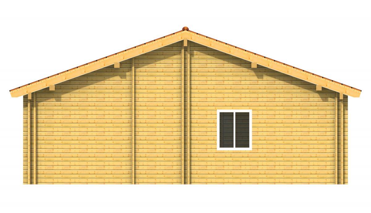 Classique maison bois en kit - Photos maison en bois ...