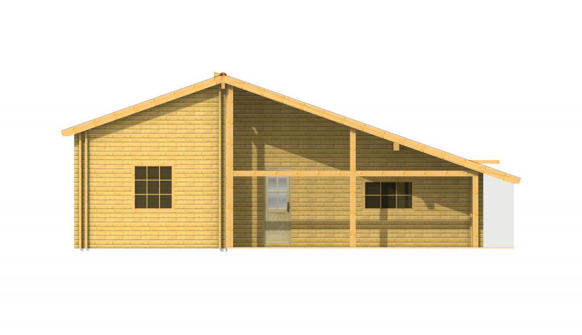 Maison bois en kit maison bois dana - Maison kit bois autoconstruction ...