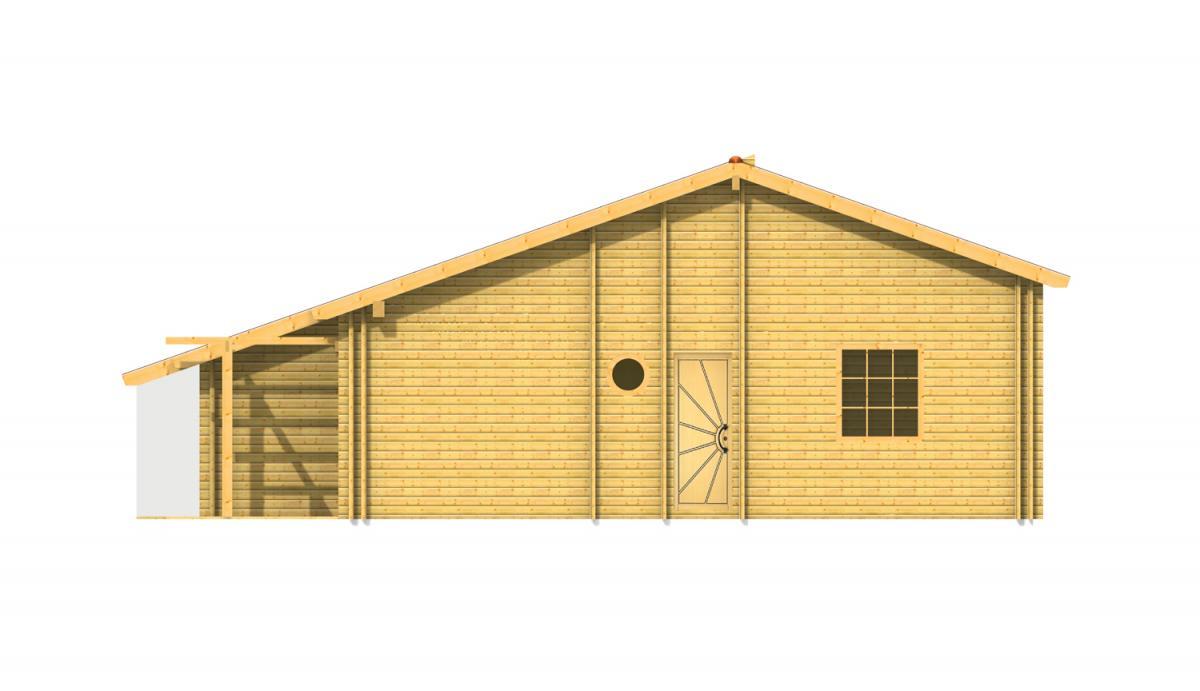 Dana maison bois en kit for Maison bois kit